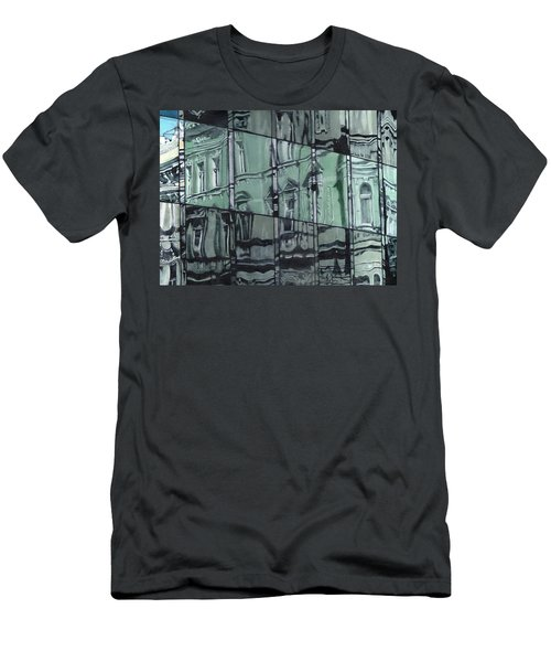 Reflection On Modern Architecture Men's T-Shirt (Athletic Fit)