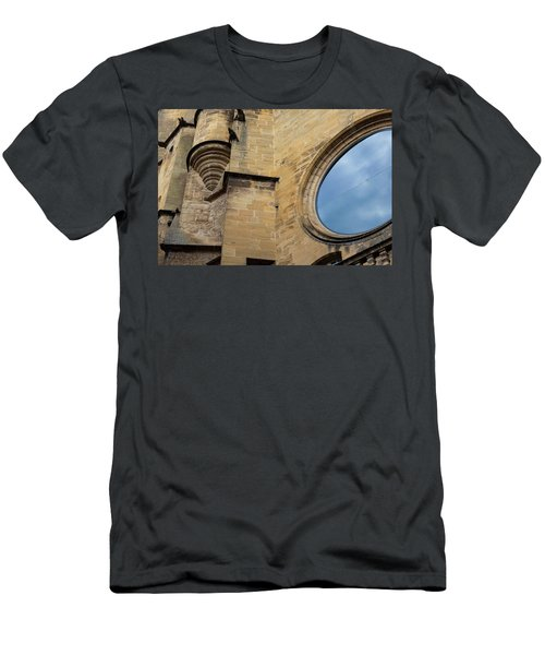 Reflection, Sarlat, France Men's T-Shirt (Athletic Fit)