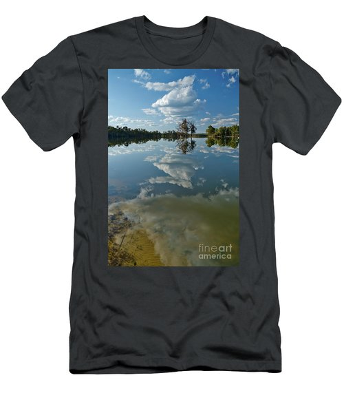 Reflections By The Lake Men's T-Shirt (Athletic Fit)