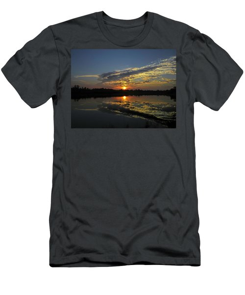 Reflections Of The Passing Day Men's T-Shirt (Athletic Fit)