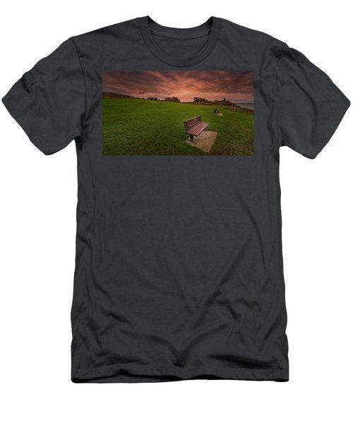 Relaxing At St Ives Cornwall Men's T-Shirt (Athletic Fit)