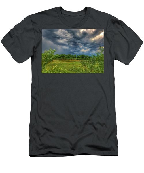 Restless Sky Men's T-Shirt (Athletic Fit)