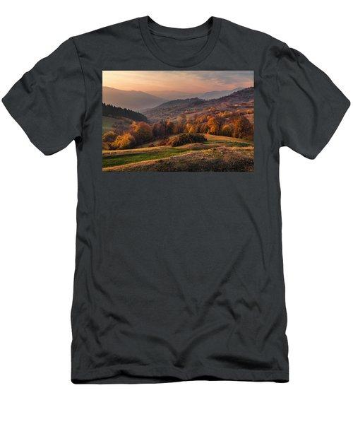 Rhodopean Landscape Men's T-Shirt (Athletic Fit)