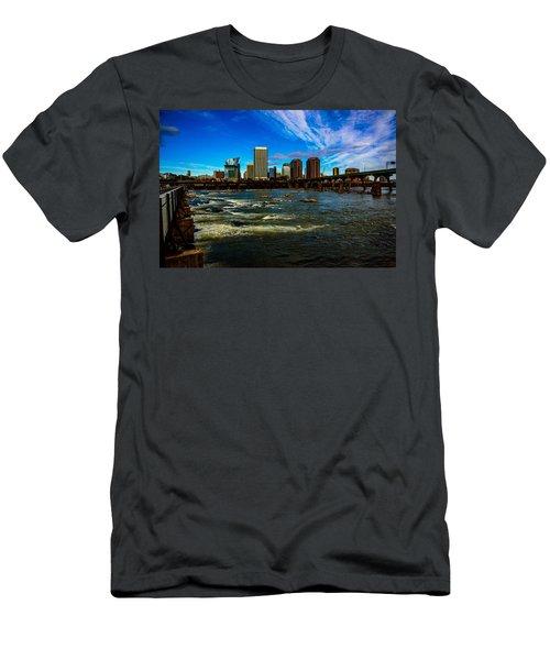 Richmond On The James  Men's T-Shirt (Athletic Fit)