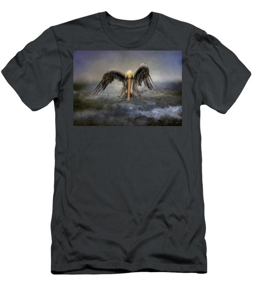 Riding The Storm Out Men's T-Shirt (Athletic Fit)