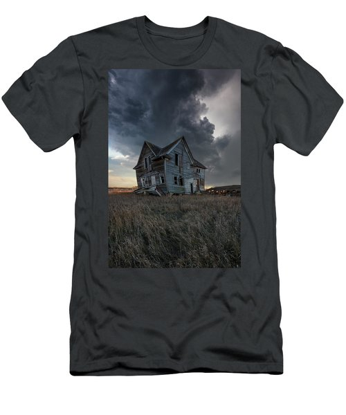 Men's T-Shirt (Athletic Fit) featuring the photograph Right Where It Belongs by Aaron J Groen