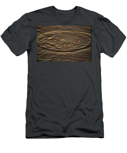 Men's T-Shirt (Athletic Fit) featuring the photograph Ripple by Buddy Scott