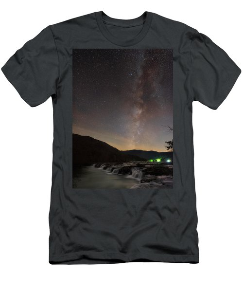 Men's T-Shirt (Athletic Fit) featuring the photograph Risen by Russell Pugh