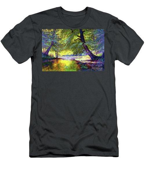River Of Gold Men's T-Shirt (Athletic Fit)