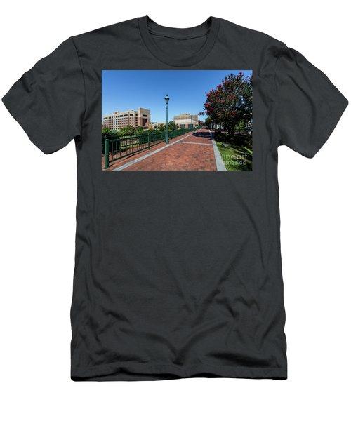 Riverwalk Downtown Augusta Ga Men's T-Shirt (Athletic Fit)