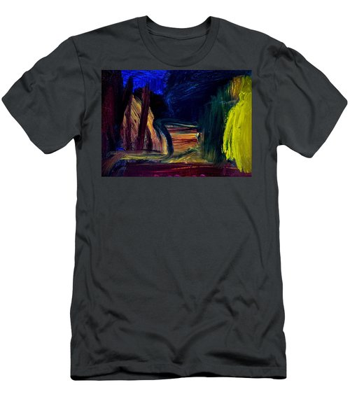 Road Men's T-Shirt (Athletic Fit)