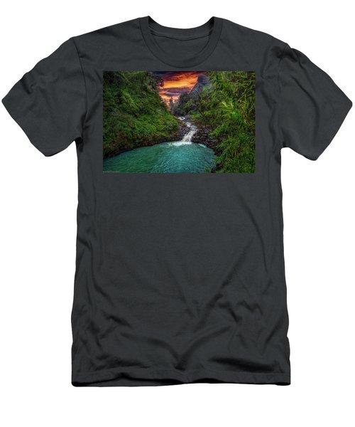 Road To Hana, Hi Men's T-Shirt (Athletic Fit)