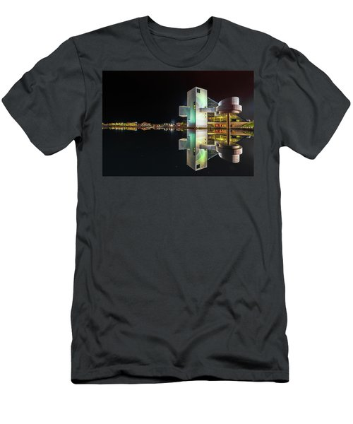 Rock Hall Reflections  Men's T-Shirt (Athletic Fit)