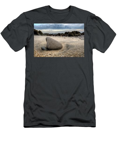 Rock On Beach Men's T-Shirt (Athletic Fit)