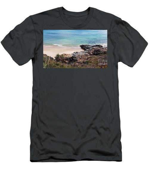 Rocks Sand And Water  Men's T-Shirt (Athletic Fit)