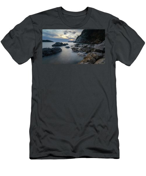 Rocky Coast Near Dubrovnik Men's T-Shirt (Athletic Fit)