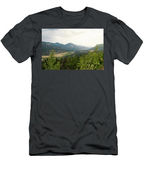 Rocky Mountain Overlook Men's T-Shirt (Athletic Fit)