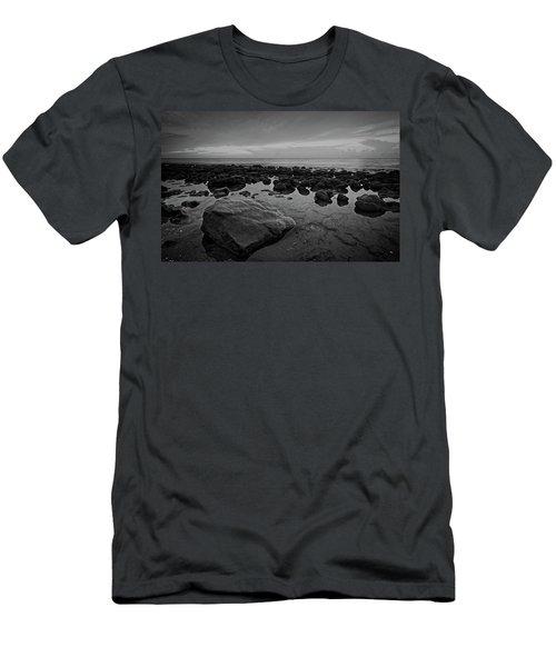 Rocky Shore Men's T-Shirt (Athletic Fit)