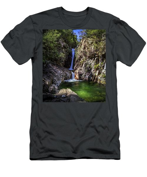 Rollalson Falls Men's T-Shirt (Athletic Fit)