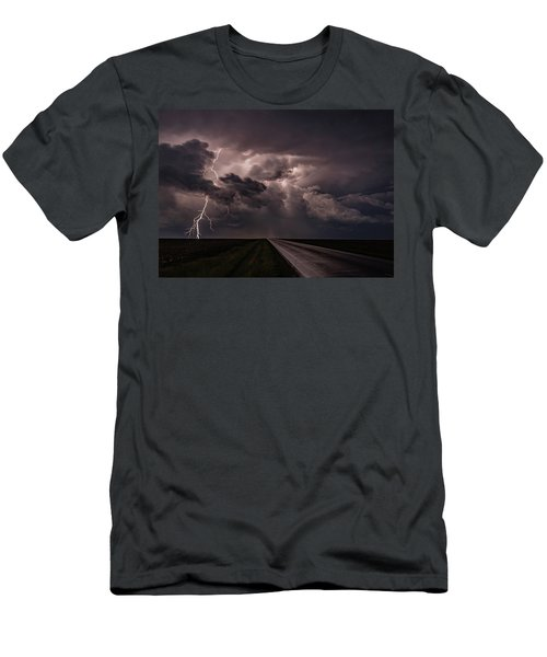 Rollin On Down The Road Men's T-Shirt (Athletic Fit)