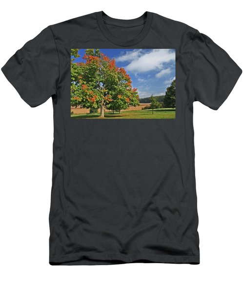 Rolling Farmland Men's T-Shirt (Athletic Fit)