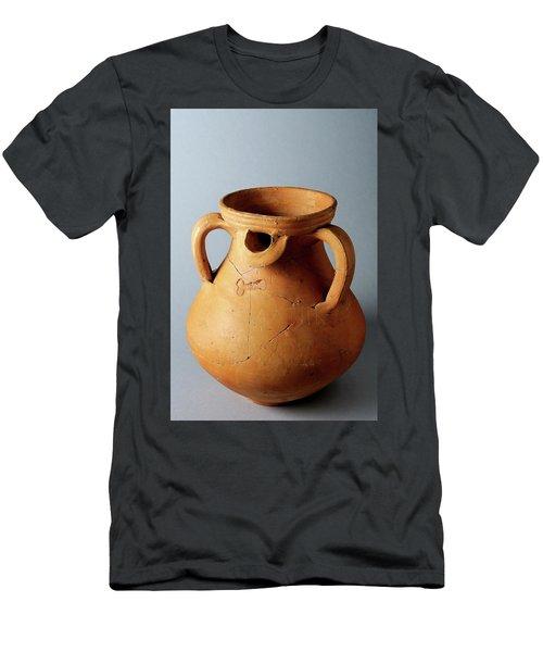 Roman  Vessel Phallic Decoration Men's T-Shirt (Athletic Fit)