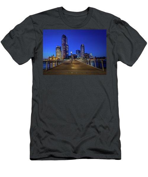 Rottedam Rijnhaven Bridge Men's T-Shirt (Athletic Fit)
