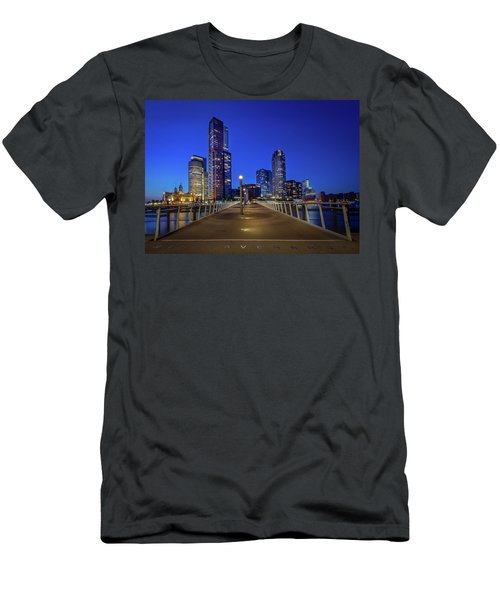 Rottedam Rijnhaven Bridge Men's T-Shirt (Athletic Fit)