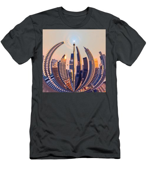 Round The City Men's T-Shirt (Athletic Fit)