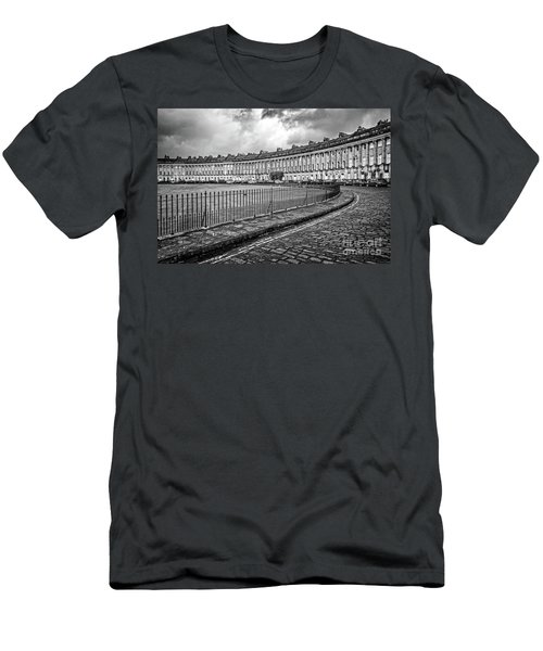 Royal Crescent In Bath Uk Men's T-Shirt (Athletic Fit)