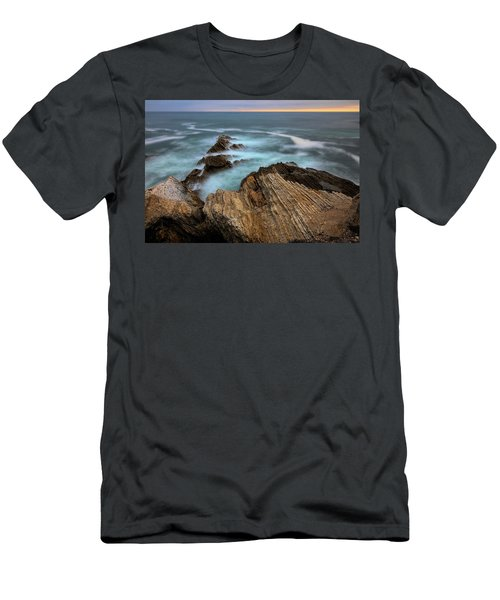 Rugged Beauty  Men's T-Shirt (Athletic Fit)