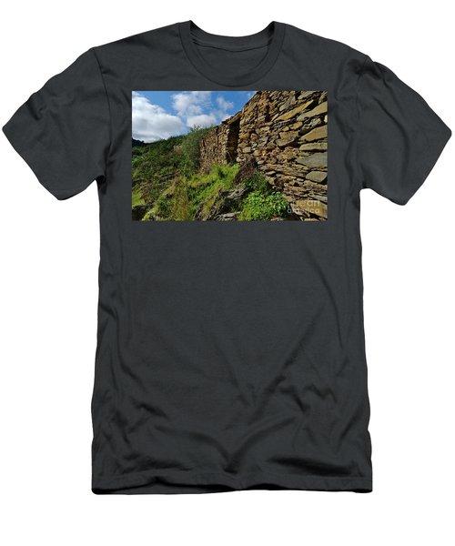 Ruins Of A Schist Cottage In Alentejo Men's T-Shirt (Athletic Fit)