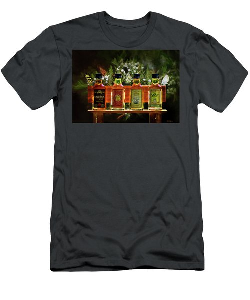 Men's T-Shirt (Athletic Fit) featuring the photograph Rum Rum And More Rum by Ericamaxine Price