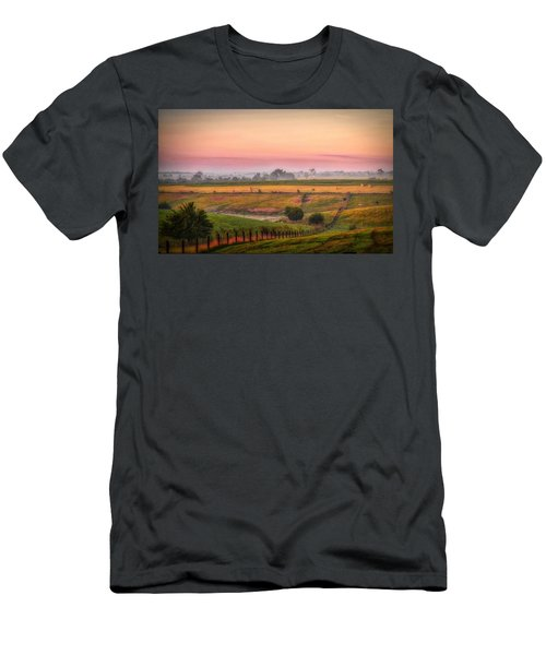 Rural Landscape Men's T-Shirt (Athletic Fit)