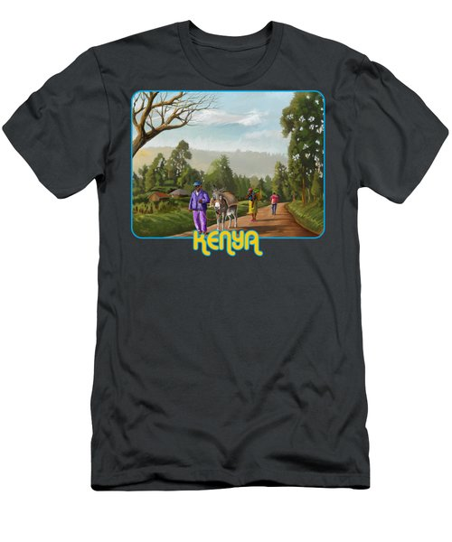 Rural Life Men's T-Shirt (Athletic Fit)