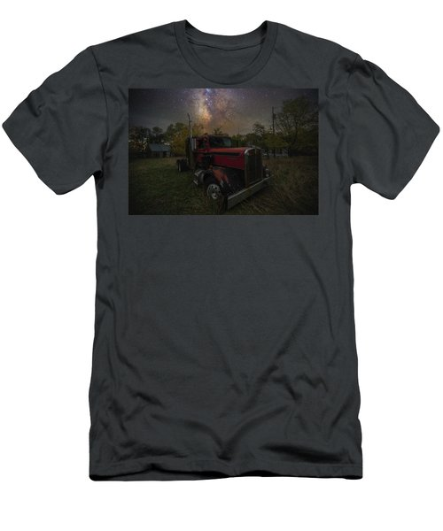 Men's T-Shirt (Athletic Fit) featuring the photograph Rusty  by Aaron J Groen