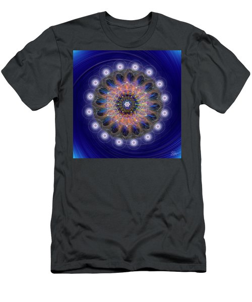 Sacred Geometry 726 Men's T-Shirt (Athletic Fit)