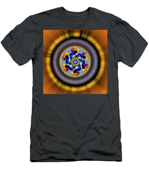 Sacred Geometry 740 Number 1 Men's T-Shirt (Athletic Fit)