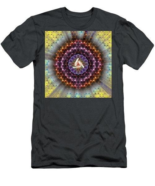 Sacred Geometry 742 Men's T-Shirt (Athletic Fit)
