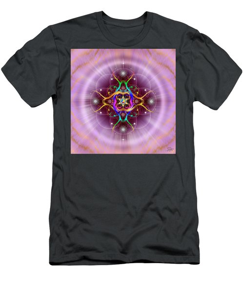 Sacred Geometry 757 Men's T-Shirt (Athletic Fit)