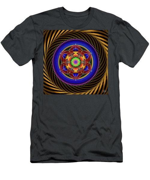 Sacred Geometry 763 Men's T-Shirt (Athletic Fit)