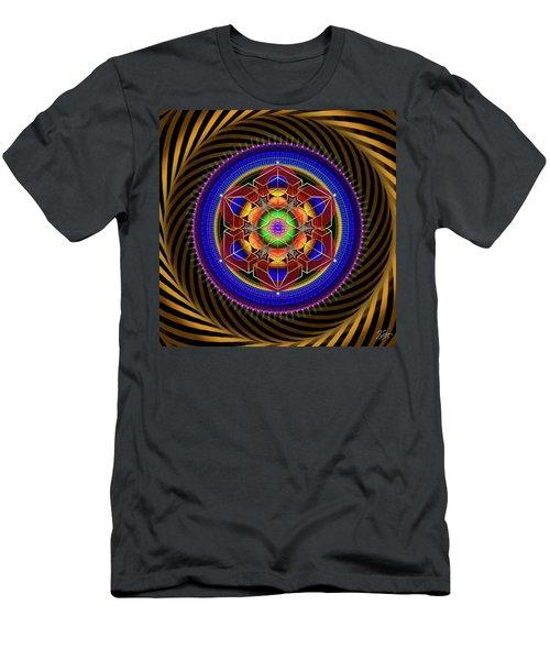 Sacred Geometry 763 Men's T-Shirt (Athletic Fit)