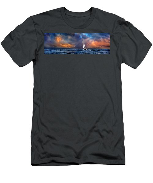 Sailing The Winedark Sea Men's T-Shirt (Athletic Fit)