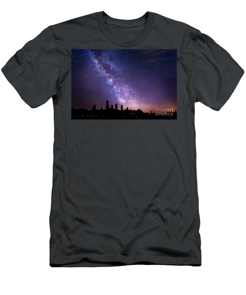 Men's T-Shirt (Athletic Fit) featuring the photograph San Gimignano Stars by Scott Kemper