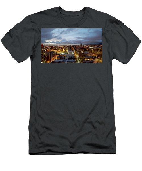 San Jose Sunset Men's T-Shirt (Athletic Fit)
