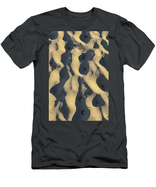 Sand Ripples Men's T-Shirt (Athletic Fit)