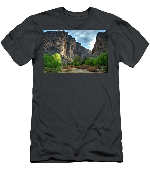 Santa Elena Canyon Men's T-Shirt (Athletic Fit)