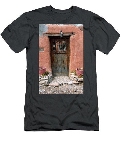 Santa Fe Door Men's T-Shirt (Athletic Fit)