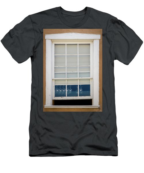 Men's T-Shirt (Athletic Fit) featuring the photograph Santa Fe Window by Jeff Phillippi