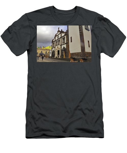 Men's T-Shirt (Athletic Fit) featuring the photograph Sao Sebastiao by Tony Murtagh